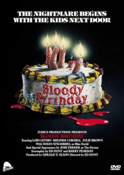 bloody birthday cover